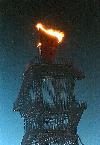 Olympic Flame at Night.jpg (40999 bytes)